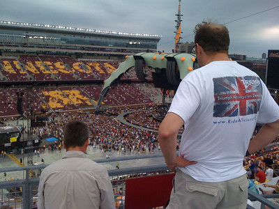 U2 with Jim and Steve 2011