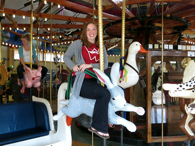 Samantha on the Rabbit (Carousel of Happiness, Nederland)