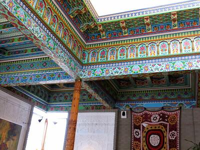 Inside the Boulder Dushanbe Tea House