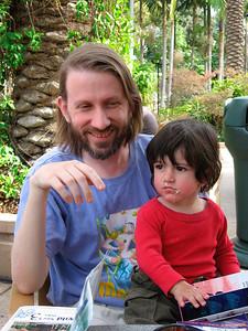 Allen & his son Fionn (San Diego Zoo, March 2007)  Fionn's photos: http://www.math.ucsd.edu/~allenk/Fionn/