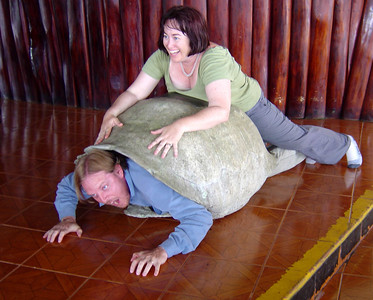 Kurth & his wife Romana (Galapagos 2004)  To see photos from their wedding in Hawaii (2001) http://www.machado-reynolds.com/album/