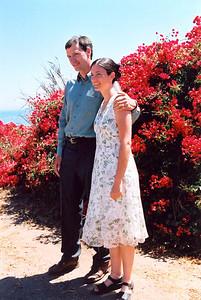 Chandra Tucker & her husband Matt (Santa Barbara, 2004)  Photos of their wedding: http://cbarreb.smugmug.com/gallery/2616684#138068156
