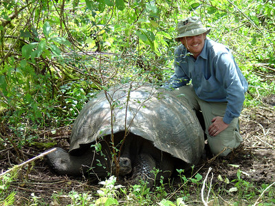 Kurth Reynolds in the Galapagos (2004)  To see photos of the trip to the Galapagos: http://www.worldisround.com/articles/71974/index.html
