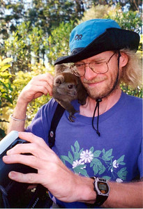 George Williams in Madagascar (May 2000) More photos about that unique destination: http://cbarreb.smugmug.com/gallery/1123861#52323550  Website about lemurs http://info.bio.sunysb.edu/rano.biodiv/index.html  Website about running: http://sbrunning.org/george/