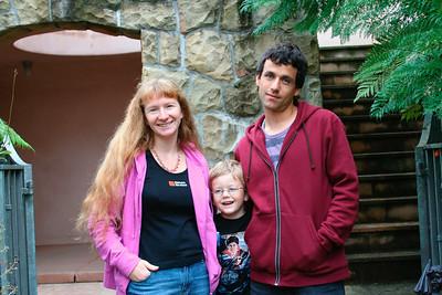 Dave Taub, his wife Marika & their son Devik (Santa Barbara, October 2005).  For more photos of the family: http://cbarreb.smugmug.com/gallery/1054718#48988026