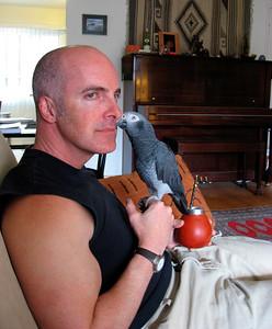 Doug Cutrell & Loki in San Diego (March 2007)
