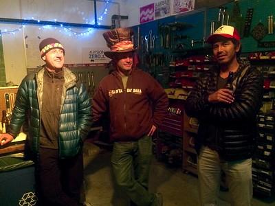 Dave, Charlie & Chiqui