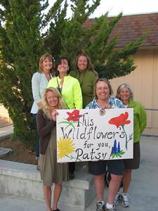 A group of Neon girls at the Wildflower Century: Diana, Judy, Erin, Mary Ellen, Diane & Lori