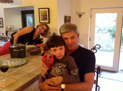 Arie Jan & Ezra (Aug 2014)