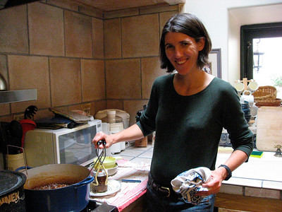 Kristin at work