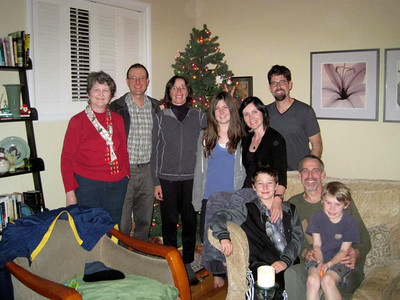 Group photo (Christmas 2012) Otto & Marcia went home early :((