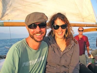 Tim, Rachel & Kristian our captain.