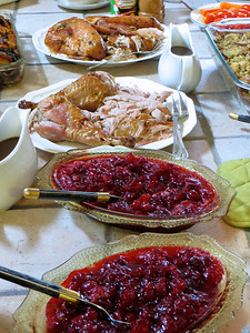 Turkey & cranberry sauce Dinde & sauce a la canneberge