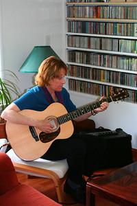 Playing music at Gabriela's wedding (May 2006)