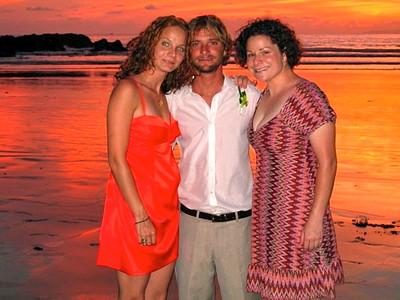 Logan's wedding in Costa Rica (2006)