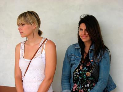 Lizzie's friends: Libby & Ashley