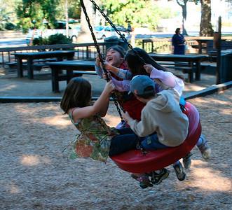 Spinning at Kids World, SB (January 2007)