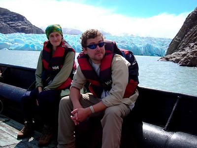 Pete & Jill in Patagonia (2005)