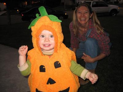 Pumpkin farmer (Halloween 2007)