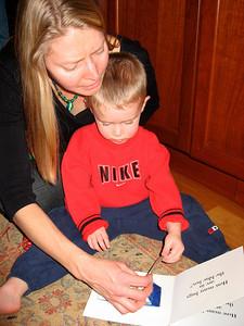 Tanya and Brandon (Christmas 2008)