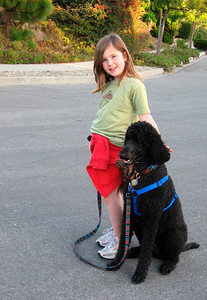 Christmas 2006: Ella & Bijou