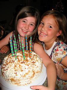 Kate & Ella (Dec 2007): 9th birthday