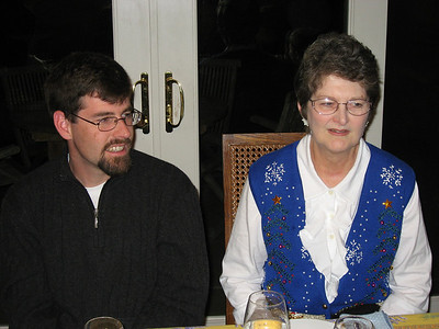 Joel & his mom, Sally (December 2007)