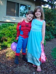 Spiderman & Princess Ella