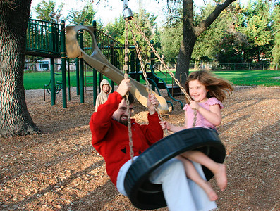 Playground in Los Alamos (Thanksgving 2005)