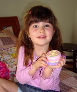 December 2003: Ella's 5th birthday