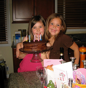 Dec 8, 2006: Ella is celebrating her 8th birthday.