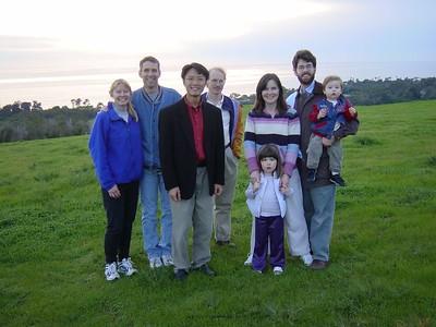 Group photo: Christmas 2002