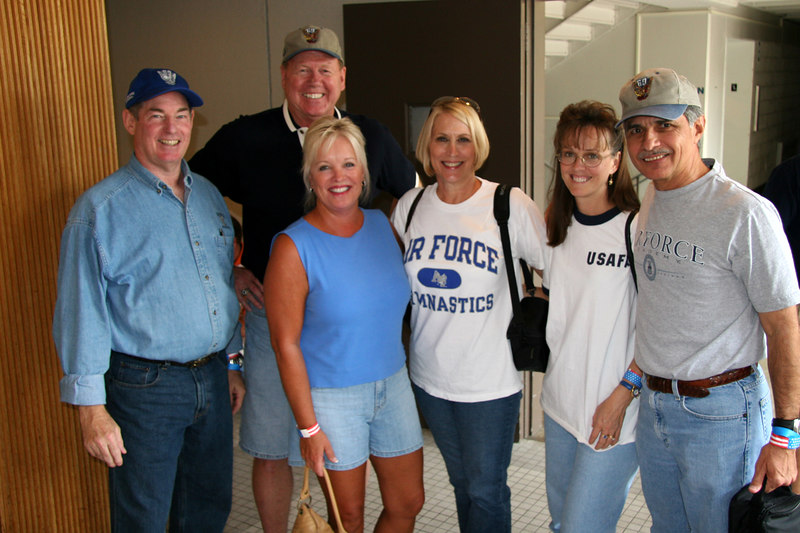 Dave Spencer, Mike & Wanda Klindt, Debbie Spencer, Cindy & Marty Cavato
