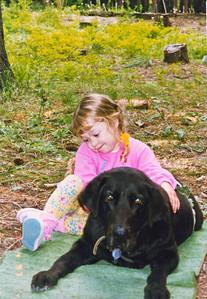 Megan and Nick at Plain, Fourth of July 1997