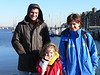 Kamenko, Vesna Bonnie at Boston Harbor. It was a pleasant surprise to be able to stroll the waterfront in January!