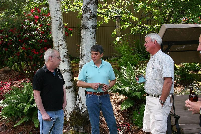 Dave McMullen, Vince Wan, John Weber