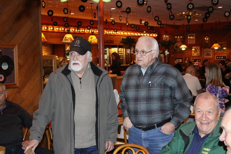 Raul de la Torre, Jerry Peterson, Jim Robison, and John Davidson.