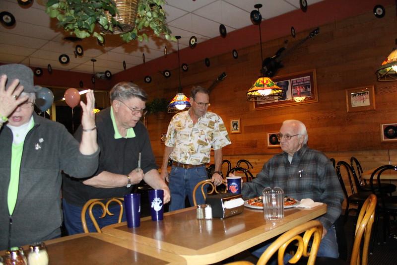 Carolyn Sweet, Jim Sweet, Brad Bradford, and Jerry Peterson.