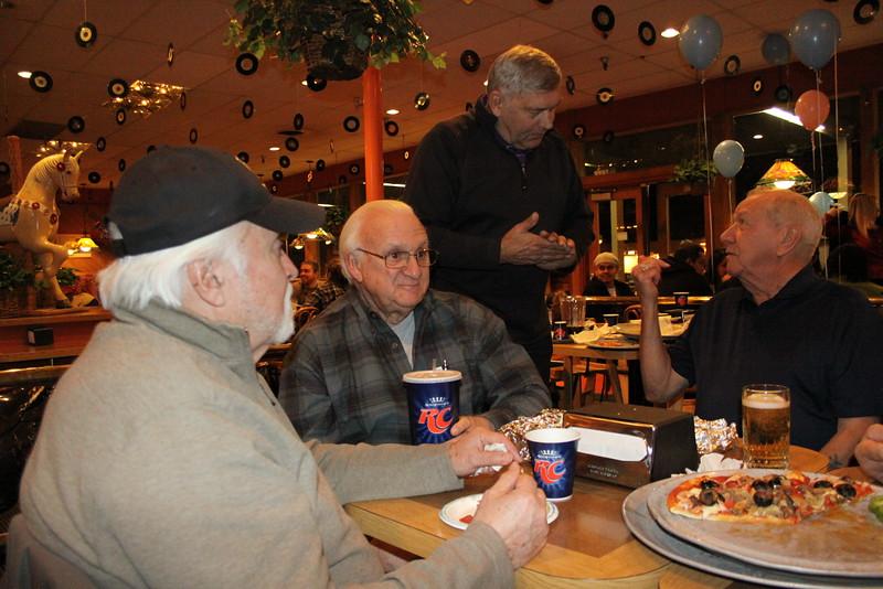 Raul de la Torre, Jerry Peterson, Greg McLeod, and Jim Robison.