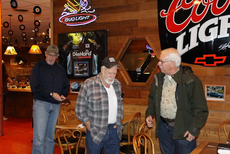 Doug Garrett, Dick Bay, and Larry Seeley