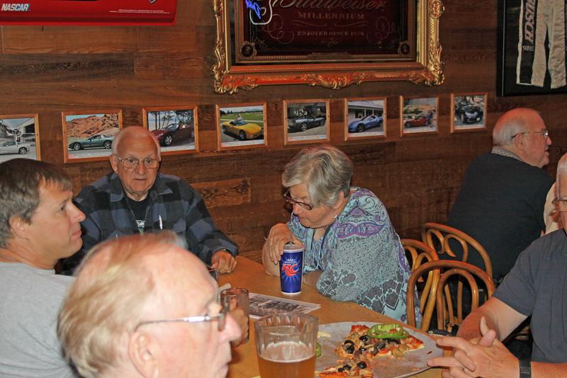 Randy Corey, Jerry Peterson, Connie Eubanks (Del Pixler front)