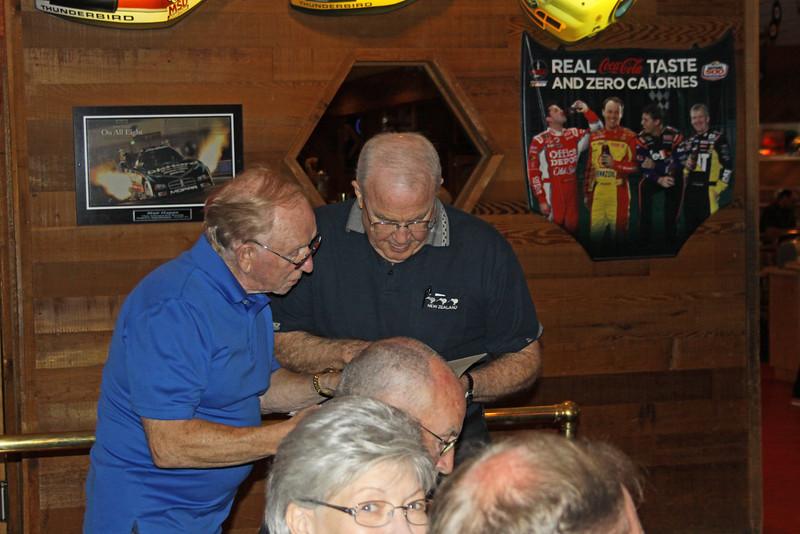 Del Pixler and Bill Miller