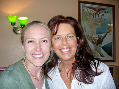 Arienne with Julie Bruce Schnorr
