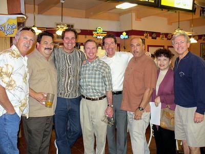 Mike, Rick, Michael, Scott, Pat, Camilo & Sonja, and Joey