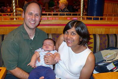 Steve, Vidya, & Brady