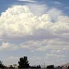 Clouds over high desert