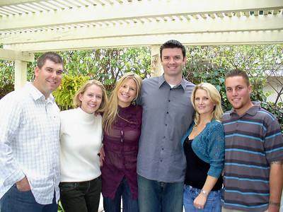 Mark & Ari, Christina-Marie & Rob, Marin & Steven