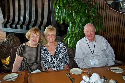 Christine, Mary, Tom