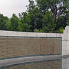 "This is the ""Freedom Wall,"" situated on the west edge of the World War II Memorial in Washington, D.C.<br /> <br /> There are 4,048 gold stars mounted on the wall -- each representing 100 U.S. lives lost during the Second World War."