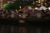 A terrible photo technically, but it communicates the mood of WaterFire.